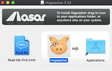 Hogwasher Install