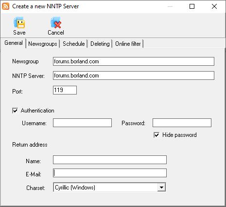 Newsgroup Commander Pro Add Server
