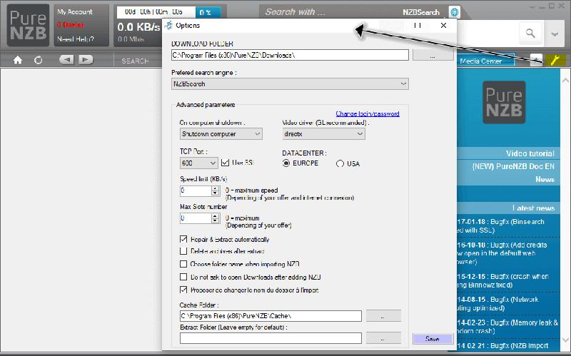 Purenzb Newsreader Options Configuration Settings
