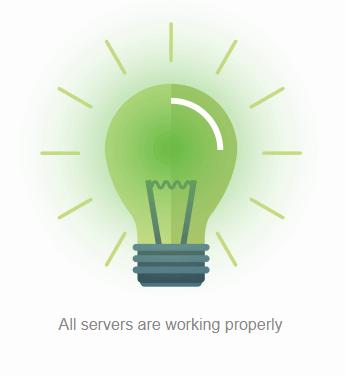 Xlned Server Status Indicator